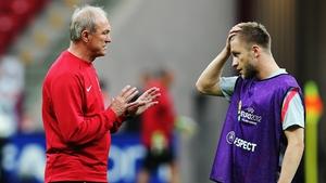 Jakub Blaszczykowski and head coach Franciszek Smuda are hoping to lead Poland to victory in Warsaw