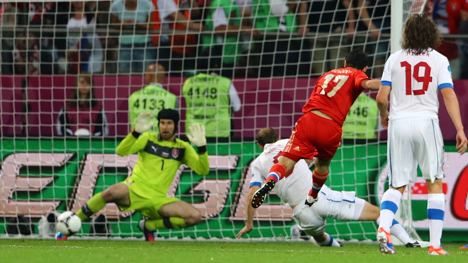 Alan Dzagoev bagged a brace for Russia against the  Czech Republic