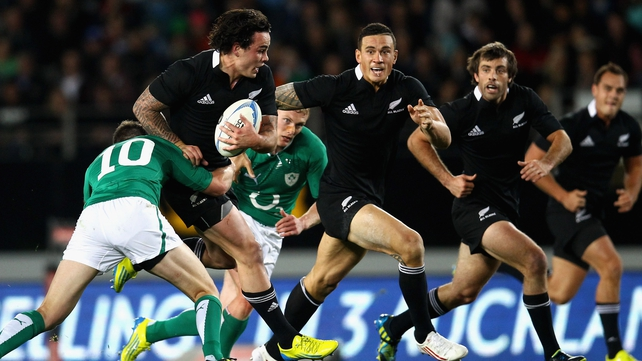 Ireland started well but failed to deal with the power and precision from the world champions