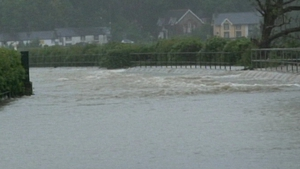 The River Leary burst its banks