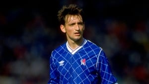 For those of you who don't remember - Pat Nevin in a Chelsea jersey