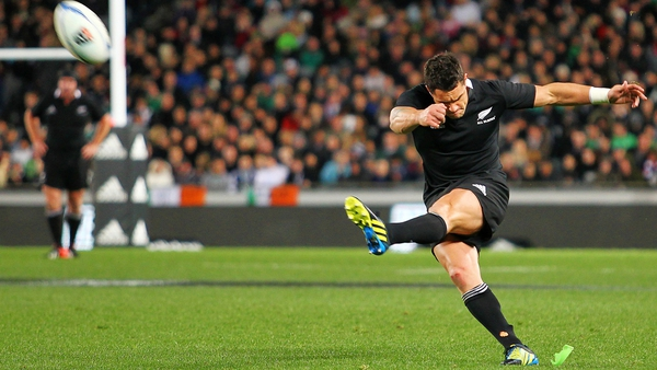 Dan Carter has failed to overcome a leg injury