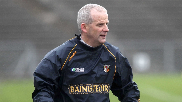 Jerry Wallace has stepped down as Antrim hurling manager