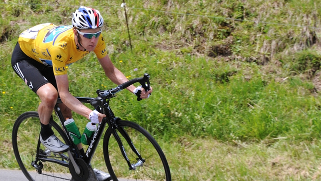 Bradley Wiggins is one stage away from overall victory in the Dauphine de Libere