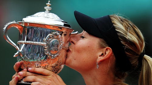 Sharapova wins her fourth Grand Slam title