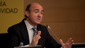 Spanish Economy Minister Luis de Guindos said there would be no austerity conditions