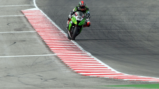 Tom Sykes will start on pole in Misano