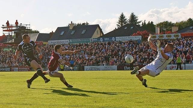 Adrian Marren scored 2-06 as Sligo shocked Galway