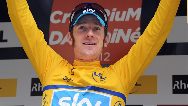Bradley Wiggins secured his second successive Criterium du Dauphine today
