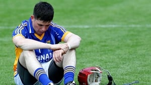 Wicklow's Christy Moorehouse dejected after the game