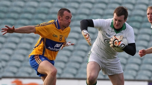 Limerick's Brian Scanlon and Rory Donnelly of Clare