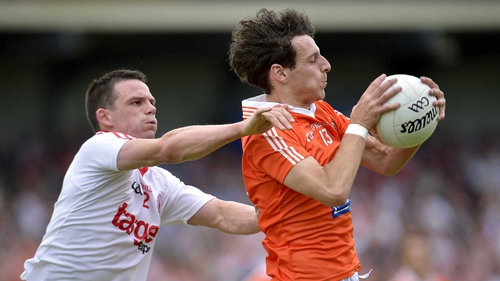 Jamie Clarke starts in the Armagh forward line