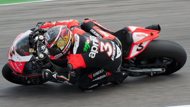 Max Biaggi extended his lead at the top of the Superbike World Championships