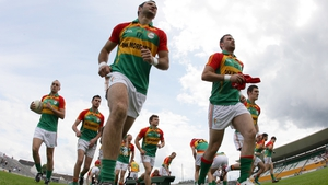 Carlow take to the field to face Meath