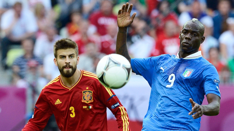 Earlier, Spain and Italy drew 1-1