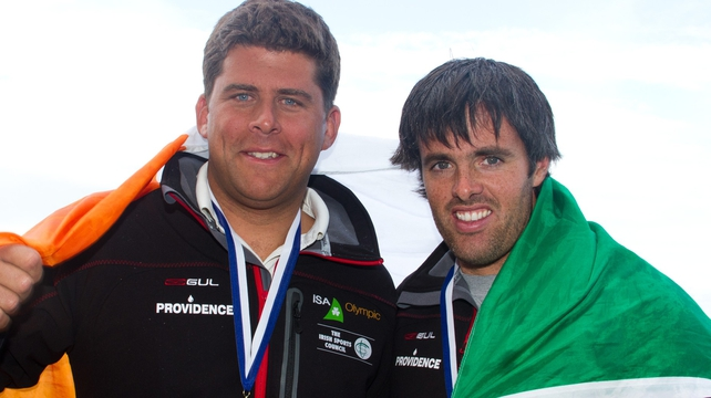 Peter O'Leary and Dave Burrows have been tipped to medal at London 2012