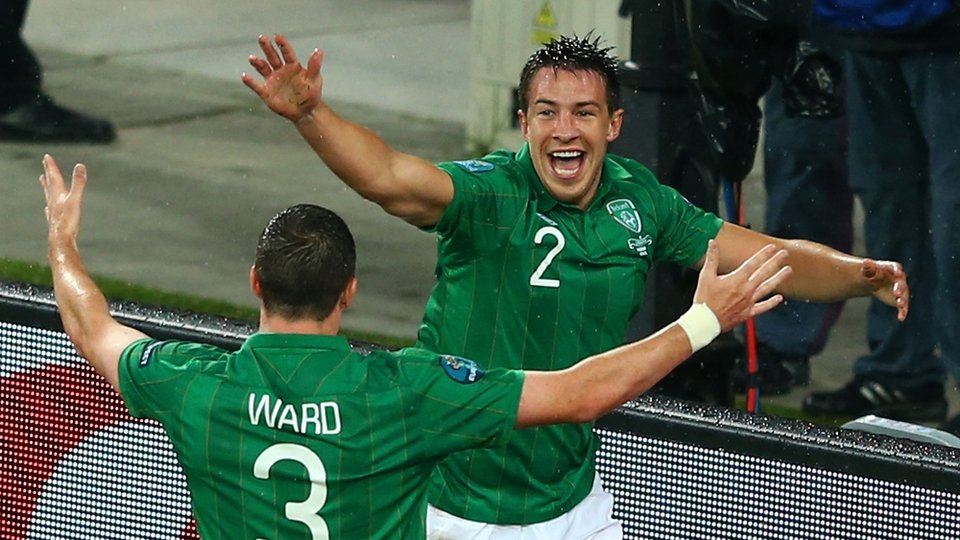 It was his third goal for Ireland
