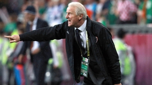 Giovanni Trapattoni couldn't inspire his troops to find a way back
