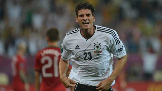Germany will face Kazakhstan without the goalscoring threat of Mario Gomez