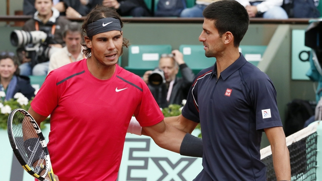 The betting market suggests that there's approximately an 85% probability of either Rafael Nadal or Novak Djokovic winning the French Open