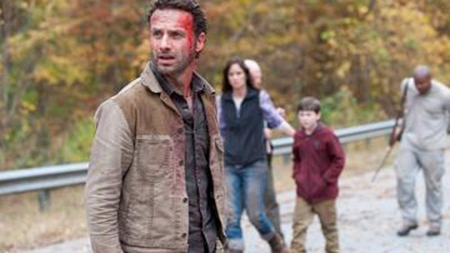 The Walking Dead - Fourth series but changes behind the scenes