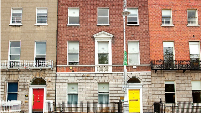 A house in Merrion Square is up for sale in a distressed properties auction