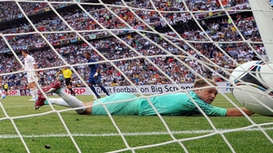 But Samir Nasri equalised for Les Bleus and the game finished all square