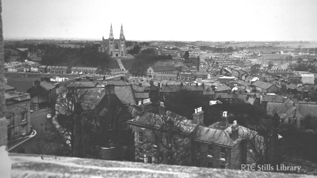 A view of Armagh. Date of Photograph: 1 January 1970. © RTÉ Archives 0202/024