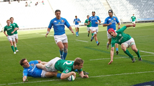 Ireland finished on a high with a win over France