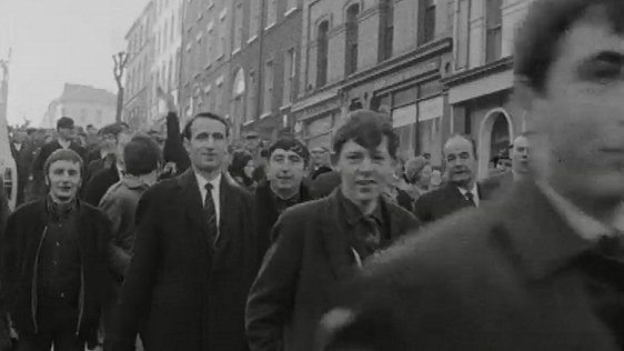 Derry Citizens Protesting on 4 December, 1968