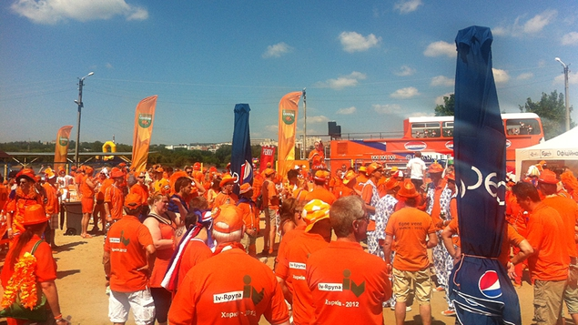 Dutch fans commit to the cause