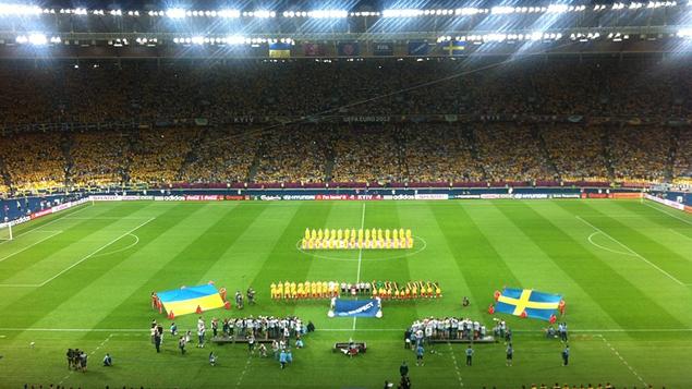 Ukraine v Sweden