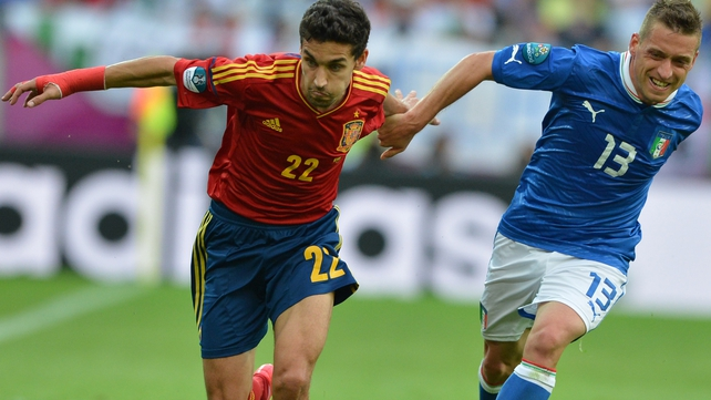 Jesus Navas has been capped 23 times by Spain