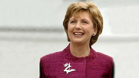 Mary McAleese and The Church