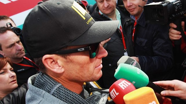 Lance Armstrong denies any wrong-doing