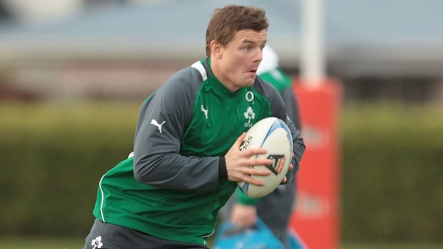 Brian O'Driscoll leads Ireland into battle against New Zealand today