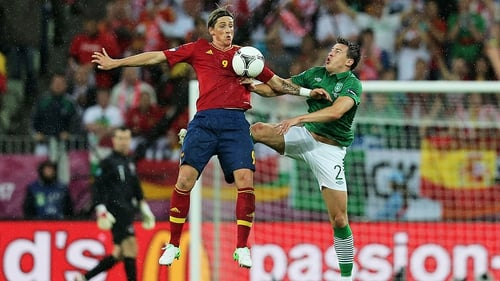 Sean St Ledger scored Ireland's only goal at last summer's European Championships