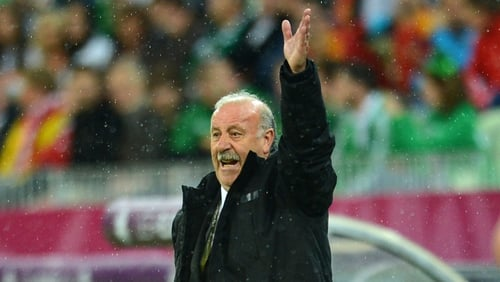 "Vicente del Bosque: ""Never have we regretted not drawing with Croatia to eliminate Italy."""