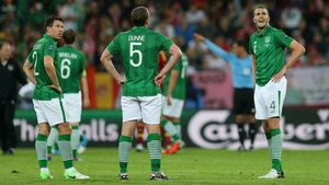 And the Irish players know it's all over