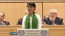 Aung San Suu Kyi taken ill in Geneva