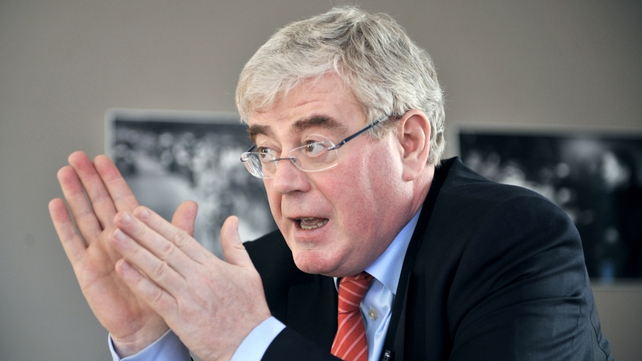Eamon Gilmore says a number of options being looked regarding Irish loans