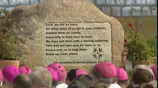 The Healing Stone of Wicklow granite, will be moved to Lough Derg