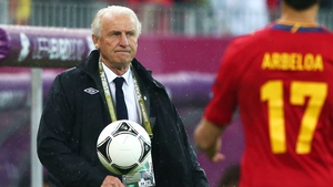 Giovanni Trapattoni: 'I have more enthusiasm to stay than you and your colleagues. The Irish people can decide'