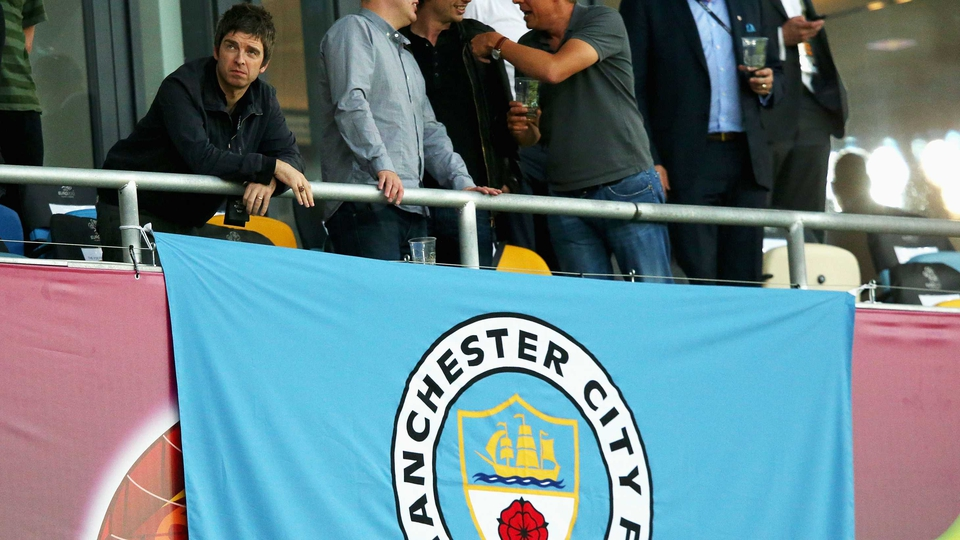 Noel Gallagher was at the England v Sweden match - I can't remember who he supports...
