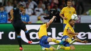 Theo Walcott hit back for England
