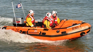 The RNLI was involved in the rescue operation