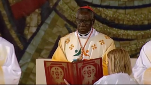 Cardinal Robert Sarah concelebrated mass at the Eucharistic Congress
