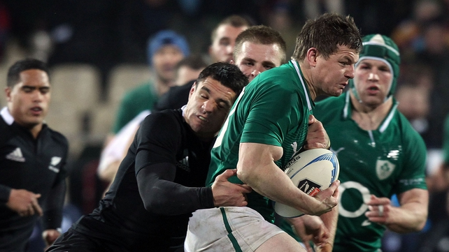 Brian O'Driscoll can now solely concentrate on playing his way into the Irish starting XV for the Six Nations