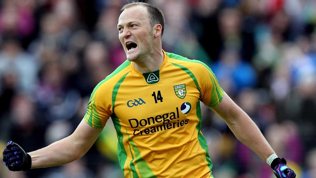 Colm McFadden was among the goals for Donegal