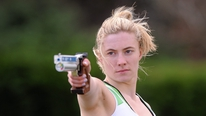 Natalya Coyle and Eanna Bailey speak about the first medal for Ireland at a World Cup event in Modern Pentathlon